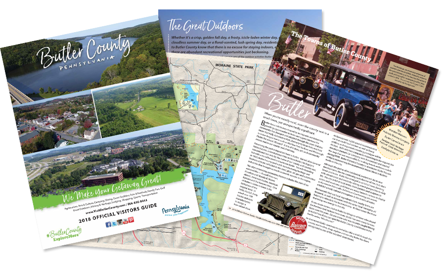 brochures and guides visit butler county pennsylvania