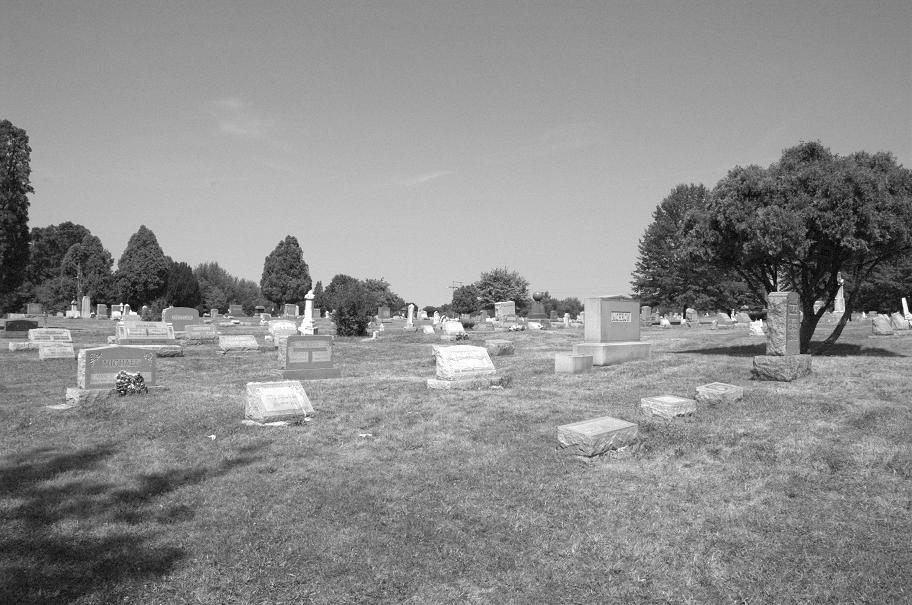 evans city cemetery attractions visit butler county pennsylvania