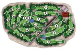 course layout map
