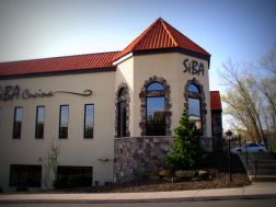 exterior of siba cucina in cranberry