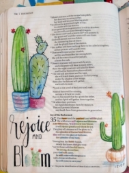 Be guided in a variety of art journaling techniques to help you grow your faith in a creative adn easy way!